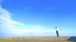 青空カメラマンの写真・画像素材[1104896]