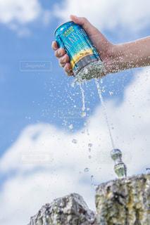 水しぶきあふれるHOPの写真・画像素材[1344213]