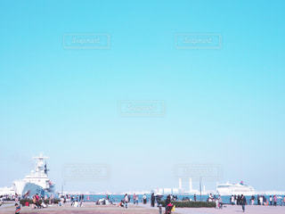 海,船,港,横浜