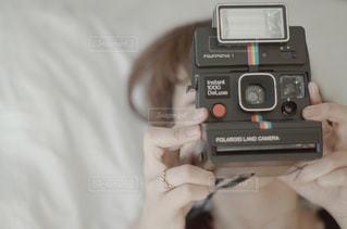 ポラロイドカメラの写真・画像素材[1020333]