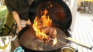 大きな肉の写真・画像素材[1226225]