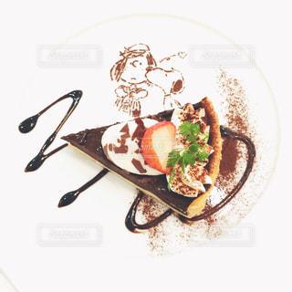 食後のデザートの写真・画像素材[771341]
