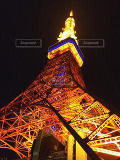 夜の東京タワーの写真・画像素材[771352]