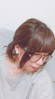 ダテメガネの写真・画像素材[1385747]