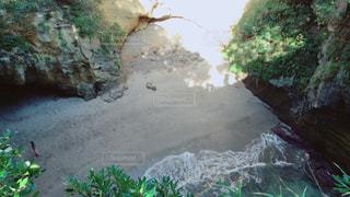 上から見た竜宮窟の写真・画像素材[2271466]
