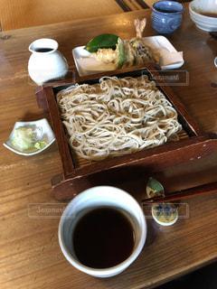 テーブル,美味しい,木目,蕎麦,天ぷら,日本蕎麦,食欲の秋