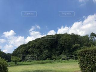 山と雲の写真・画像素材[2423864]
