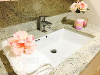 ピンク,薔薇,洗面台,ふかふかタオル,洗顔が好き,楽しい手洗い,フローラルの香り