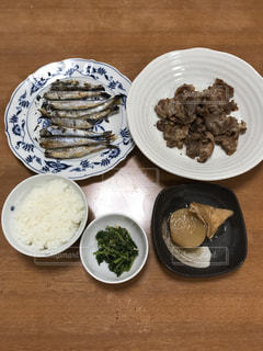 ウチの晩ご飯の写真・画像素材[778983]