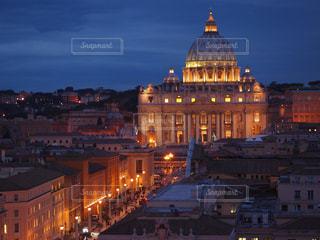 サンタンジェロ城からのサンピエトロ大聖堂 - No.788188