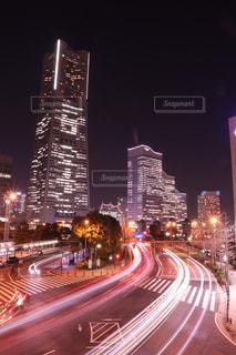夜の街の写真・画像素材[1047331]