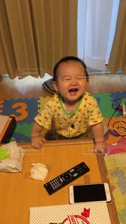 早朝から最高の笑顔でご挨拶の写真・画像素材[828501]