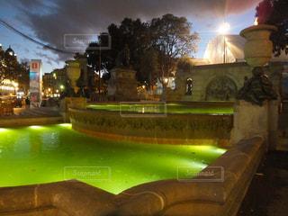 バルセロナの夜の写真・画像素材[1690676]