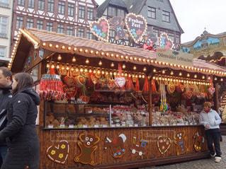 ドイツのクリスマスマーケットの写真・画像素材[1780609]