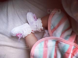 赤ちゃん足の写真・画像素材[1819472]