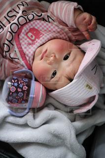 赤ちゃん用マグの写真・画像素材[1991878]