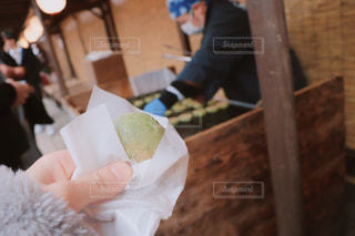 焼きよもぎ餅の写真・画像素材[2888208]