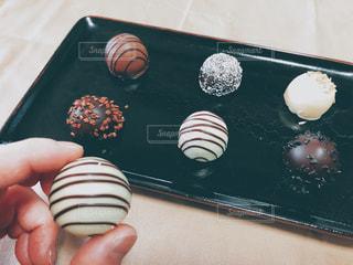 トリュフチョコレートの写真・画像素材[2891624]
