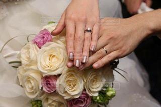 花,花束,指輪,結婚式,夫婦,ブーケ,絆,ハンドサイン,ジェスチャー