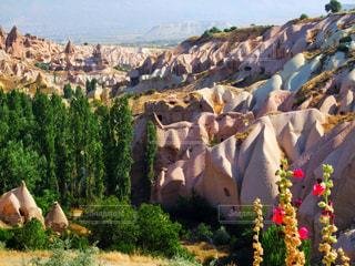 トルコのカッパドキアの写真・画像素材[787229]