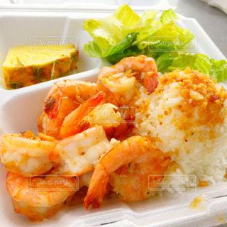 食べ物,食事,海外,旅行,料理,ハワイ,エビ,海外旅行,ホノルル,ガーリックシュリンプ,マッキーズ,Macky's