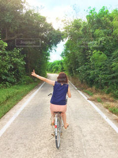 石垣島で自転車♪の写真・画像素材[918805]