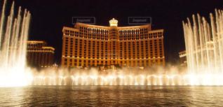 ベラージオホテルの噴水の写真・画像素材[998433]
