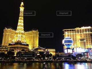 ラスベガスの夜景の写真・画像素材[998435]