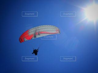 パラグライダーの写真・画像素材[1112912]