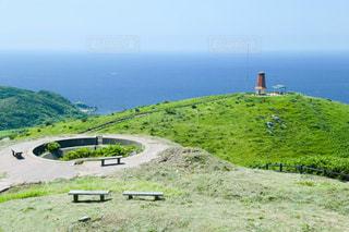 夏,屋外,島,風車,景色