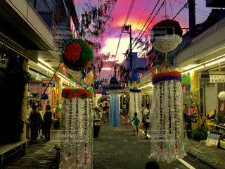 富士宮七夕祭りの写真・画像素材[803627]