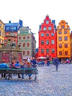 スウェーデンストックホルムの有名な観光スポットの写真・画像素材[3352464]