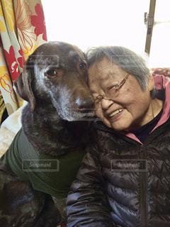 おばあちゃん大好き💜の写真・画像素材[826198]