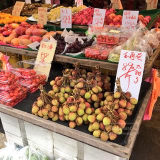 夏,マンゴー,フルーツ,果物,ブドウ,台湾,マーケット,トロピカルフルーツ,朝市,果物屋,ライチ,玉荷包