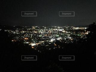 建物,夜,夜景,街並み,屋外,光,熊本,夜の街,熊本県,花岡山