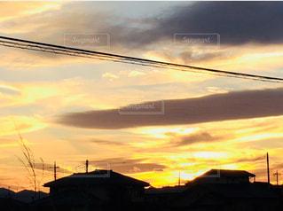 夕日のビューの写真・画像素材[896049]