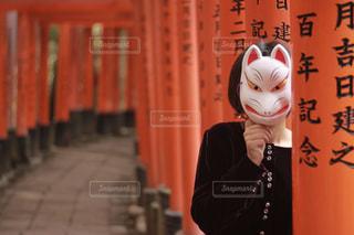 着ぐるみを着た女性の写真・画像素材[813748]