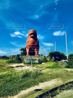 巨大シーサーの写真・画像素材[924214]