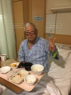 入院中のおじいちゃん - No.889884