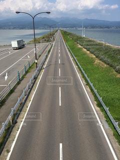 海,絶景,道路,旅行,長崎,眺め,雲仙