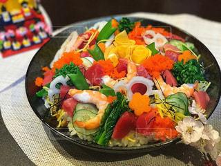 ひな祭りちらし寿司の写真・画像素材[774485]