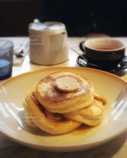 パンケーキで幸せな一日をの写真・画像素材[2263995]