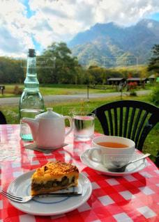 長野の牧場カフェで一休みの写真・画像素材[2288191]