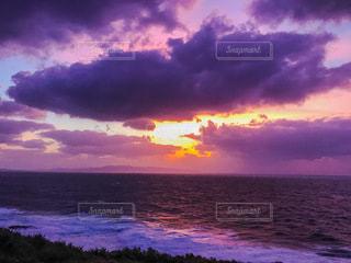 石垣島の夕暮れの写真・画像素材[3394420]