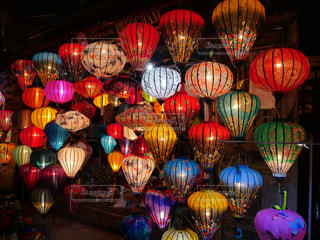 Colorful lanterns at Hoi An in Vietnam - No.775449
