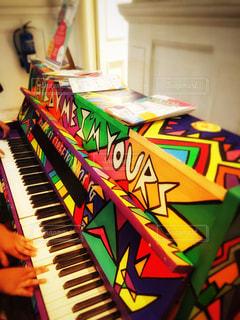 みんなのピアノの写真・画像素材[805040]