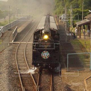 真岡鉄道線 SLの写真・画像素材[1206546]