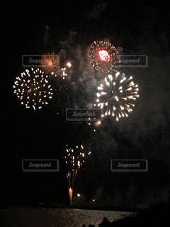 夜空の花火の写真・画像素材[1321279]