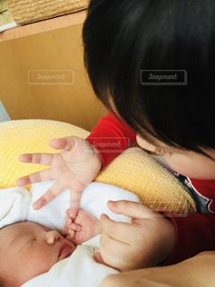 赤ちゃんの手の写真・画像素材[779519]