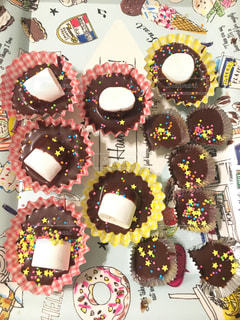 バレンタイン,チョコ,手作り,マシュマロ,簡単,子どもと